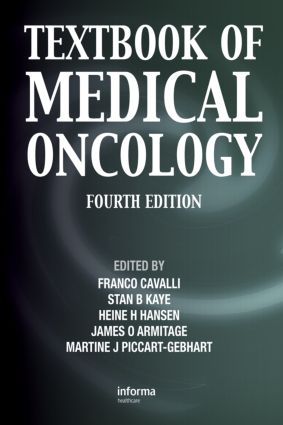 Textbook of Medical Oncology, Fourth Edition: 4th Edition (Hardback) book cover
