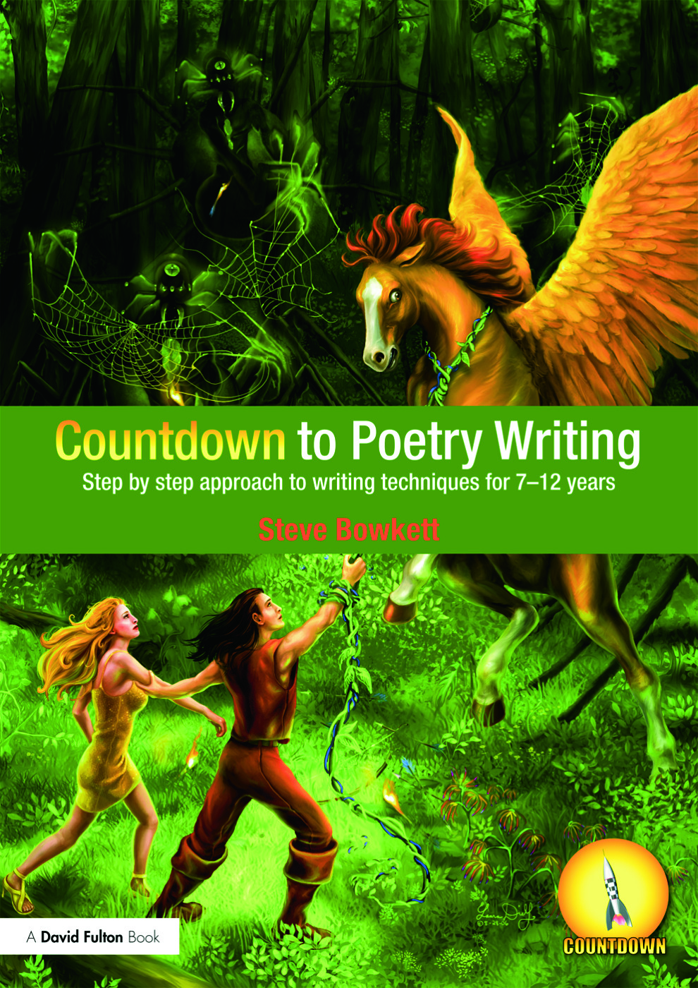 Countdown to Poetry Writing: Step by Step Approach to Writing Techniques for 7-12 Years (Paperback) book cover