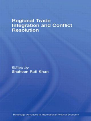 Regional Trade Integration and Conflict Resolution (e-Book) book cover