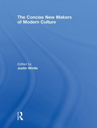 The Concise New Makers of Modern Culture (Hardback) book cover