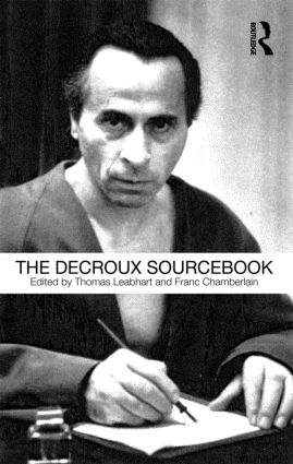 The Decroux Sourcebook (Paperback) book cover