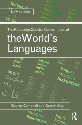 The Routledge Concise Compendium of the World's Languages, Second Edition: 2nd Edition (Hardback) book cover