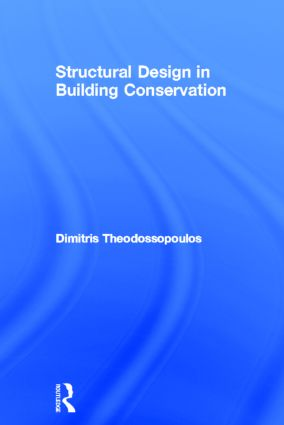 Structural Design in Building Conservation (Hardback) book cover