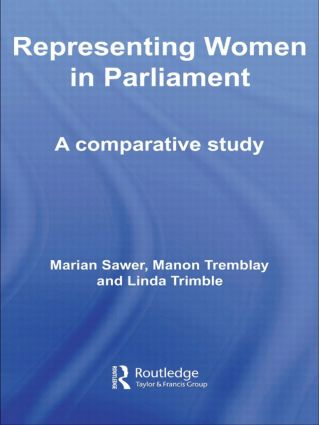 Representing Women in Parliament: A Comparative Study (Paperback) book cover