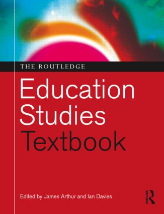 The Routledge Education Studies Textbook (Paperback) book cover
