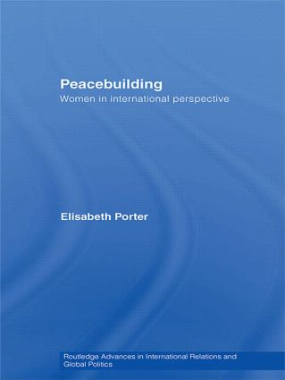 Peacebuilding: Women in International Perspective (Paperback) book cover