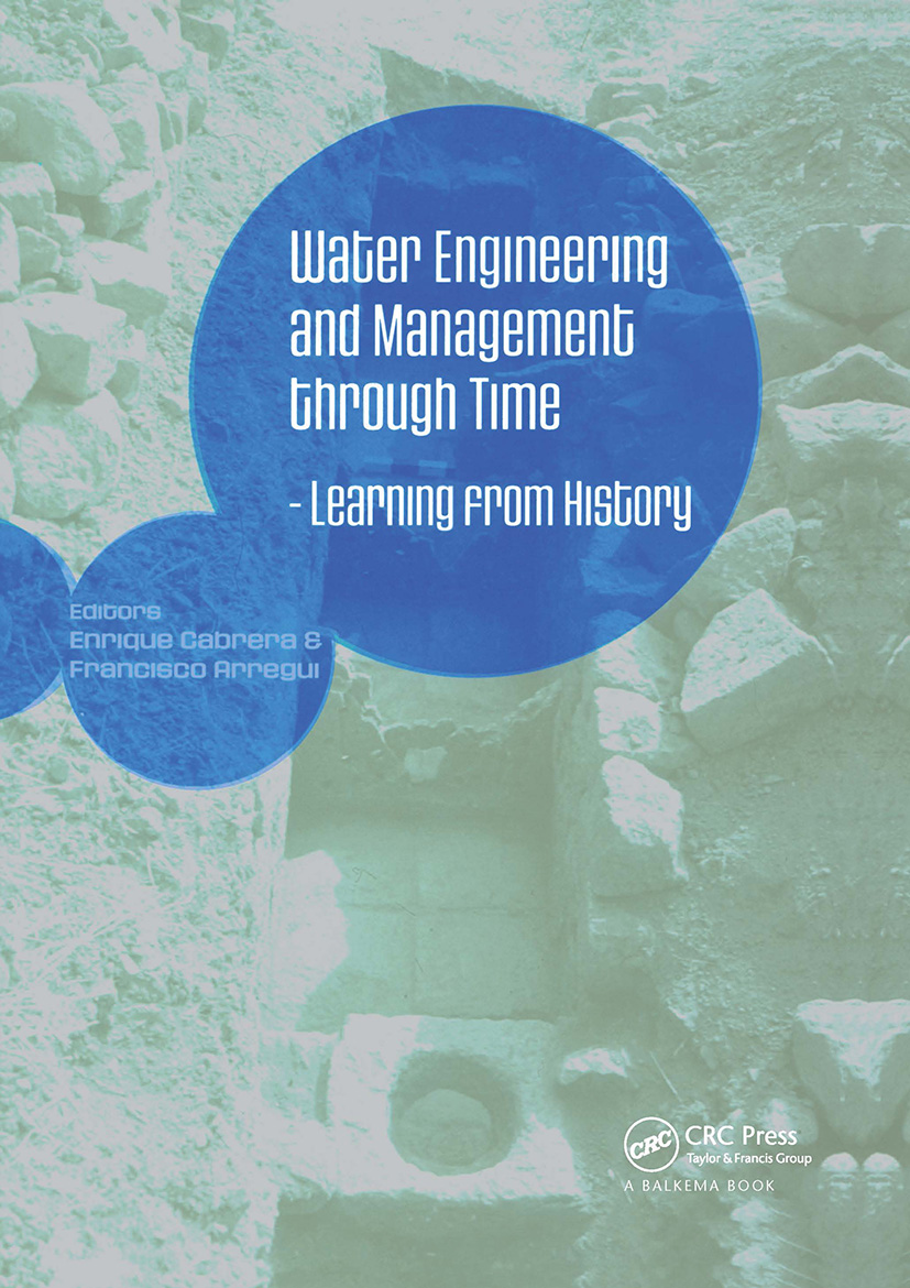 Water Engineering and Management through Time: Learning from History, 1st Edition (Hardback) book cover
