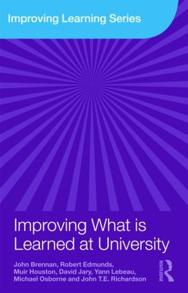 Improving What is Learned at University: An Exploration of the Social and Organisational Diversity of University Education (Paperback) book cover