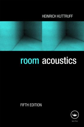 Room Acoustics, Fifth Edition: 5th Edition (Hardback) book cover