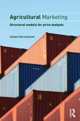 Agricultural Marketing: Structural Models for Price Analysis (Paperback) book cover