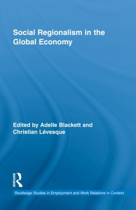 Social Regionalism in the Global Economy (Hardback) book cover
