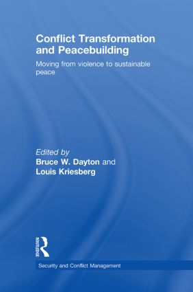 Conflict Transformation and Peacebuilding