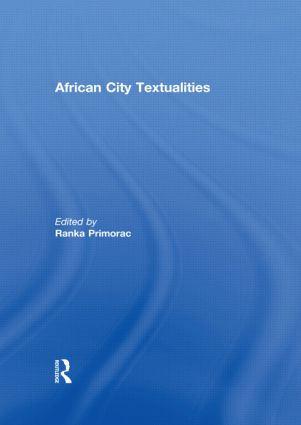 African City Textualities (Hardback) book cover