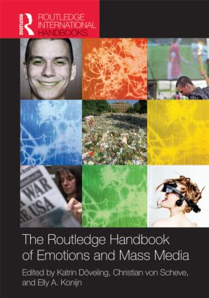 The Routledge Handbook of Emotions and Mass Media (Hardback) book cover
