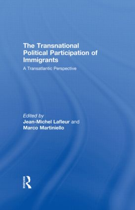 The Transnational Political Participation of Immigrants: A Transatlantic Perspective (Hardback) book cover