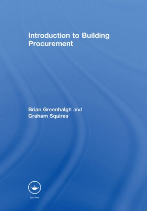 Introduction to Building Procurement (Hardback) book cover