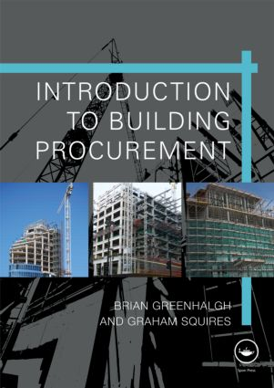 Introduction to Building Procurement (Paperback) book cover