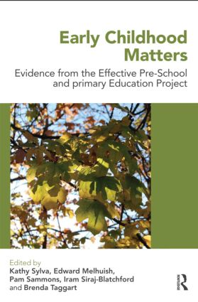 Early Childhood Matters: Evidence from the Effective Pre-school and Primary Education Project, 1st Edition (e-Book) book cover