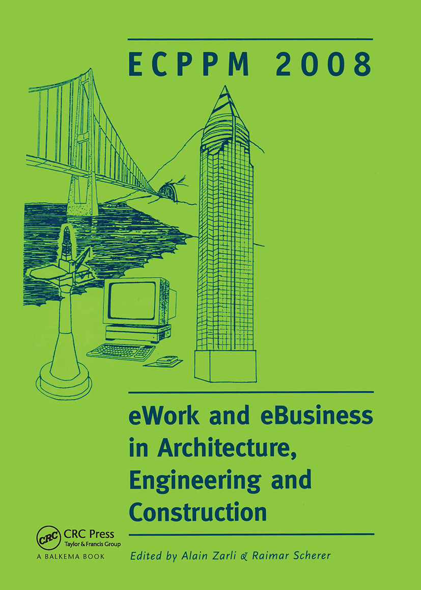eWork and eBusiness in Architecture, Engineering and Construction: ECPPM 2008 (Hardback) book cover