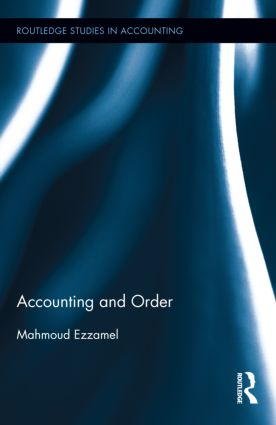Accounting and Order (Hardback) book cover