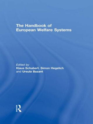 The Handbook of European Welfare Systems book cover