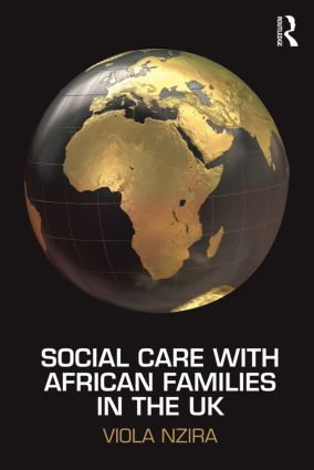 Social Care with African Families in the UK (Paperback) book cover