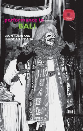 Performance in Bali: 1st Edition (Paperback) book cover