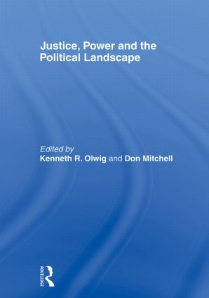 Justice, Power and the Political Landscape: 1st Edition (Paperback) book cover