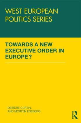 Towards A New Executive Order In Europe? (Hardback) book cover