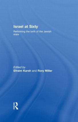Israel at Sixty: Rethinking the birth of the Jewish state (Hardback) book cover