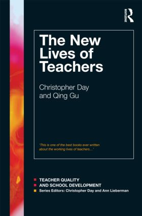 The New Lives of Teachers: 1st Edition (Paperback) book cover