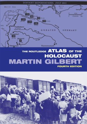 The Routledge Atlas of the Holocaust: 4th Edition (Paperback) book cover