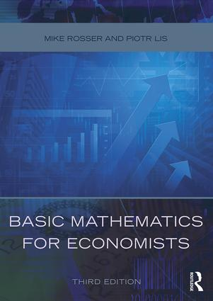 Basic Mathematics for Economists (Paperback) book cover
