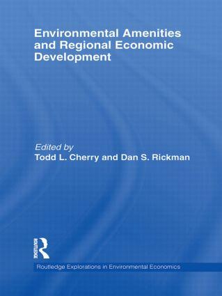 Environmental Amenities and Regional Economic Development (Hardback) book cover