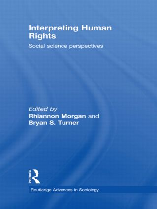 Interpreting Human Rights: Social Science Perspectives, 1st Edition (Hardback) book cover