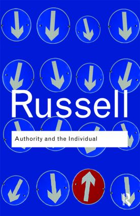 Authority and the Individual: 1st Edition (Paperback) book cover