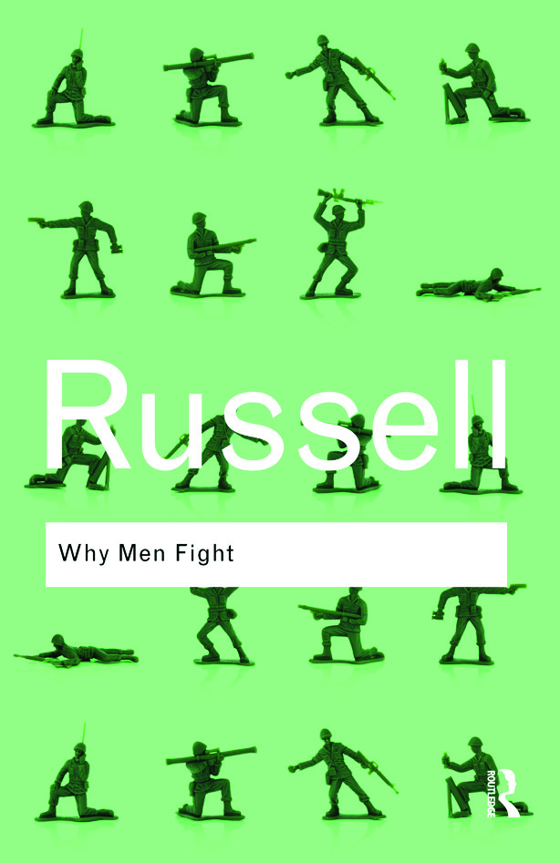Why Men Fight (Paperback) book cover