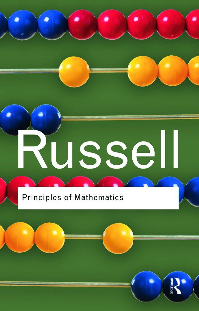 Principles of Mathematics: 1st Edition (Paperback) book cover