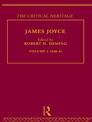 James Joyce.  Volume 2: 1928-41