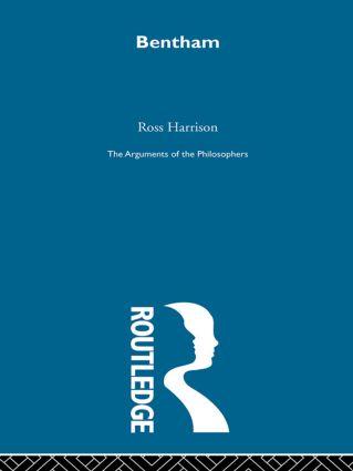 Bentham - Arg Phil book cover