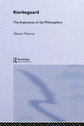 Kierkegaard - Arg Philosophers: 1st Edition (Paperback) book cover