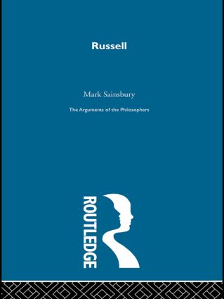 Russell - Arg Philosophers: 1st Edition (Paperback) book cover