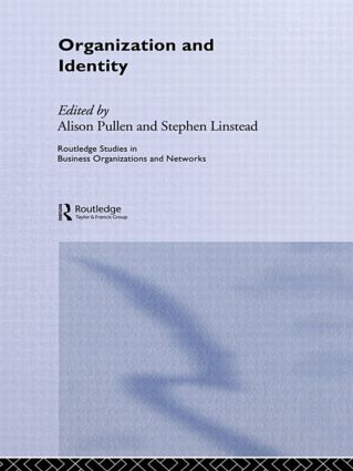 Organization and Identity (Paperback) book cover