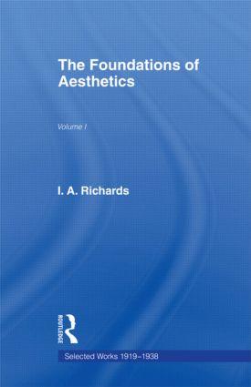 Foundations Aesthetics     V 1