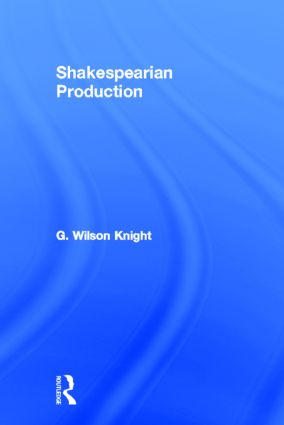 Shakespearian Production (Paperback) book cover