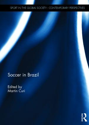 Soccer in Brazil book cover
