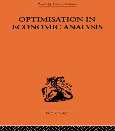 Optimisation in Economic Analysis