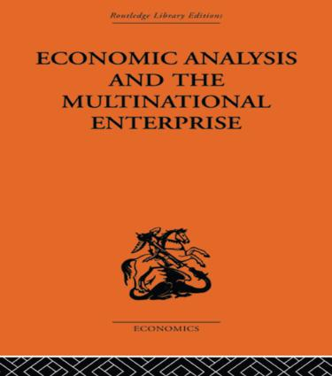 Economic Analysis and Multinational Enterprise (Paperback) book cover