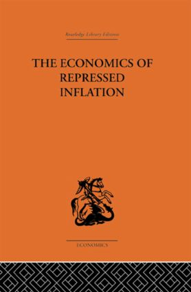 The Economics of Repressed Inflation: 1st Edition (Paperback) book cover