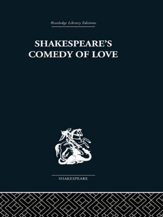 Shakespeare's Comedy of Love (Paperback) book cover